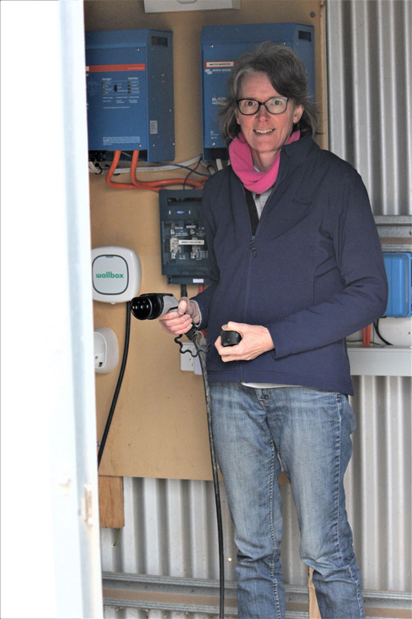 Dogrock Winery Electric Vehicle Charging